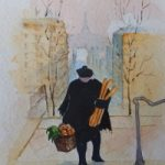 Baguettes – Europe Art Gallery – Painting by Woking Surrey Artist David Harmer