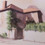 House Portrait No 6 – General Art Gallery – Painting by Woking Surrey Artist David Harmer