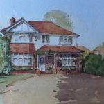 House Portrait No.7 – General Art Gallery – Painting by Woking Surrey Artist David Harmer