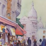 Montmartre – Paris Art Gallery of Woking Surrey Artist David Harmer