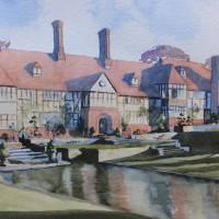 Wisley Gardens, Surrey – Britain Art Gallery – Painting by Woking Surrey Artist David Harmer