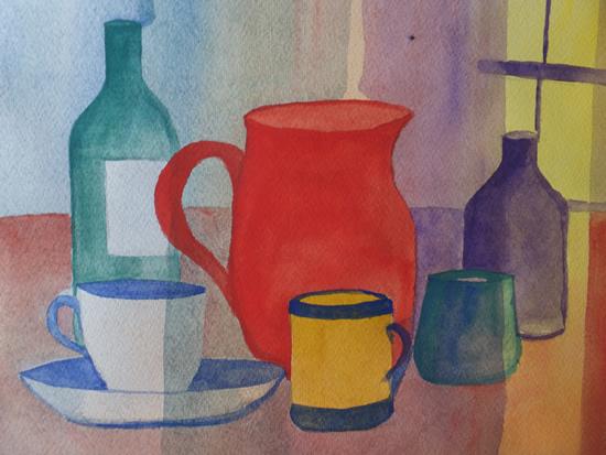 Still Life Impressionism - Painting - St Johns Woking Artist