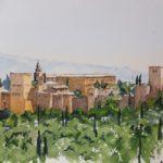 Alhambra Palace Granada Spain – Europe Art Gallery