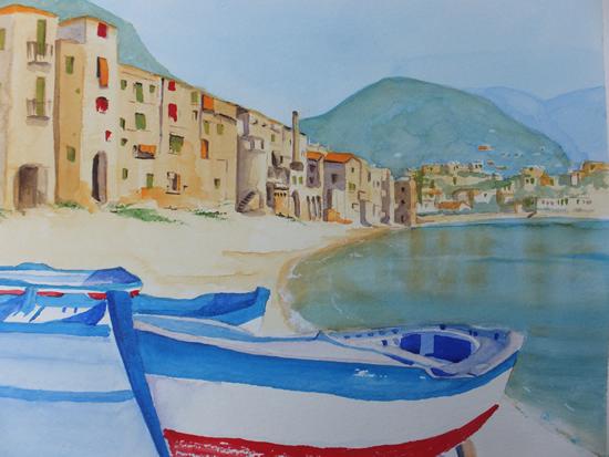 Cefalu in Sicily Italy - Europe Art Gallery