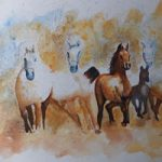 Horses out of the Mist – Animals Art Gallery