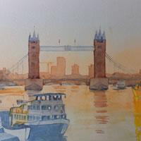 Tower Bridge London Sunrise – Britain Art Gallery